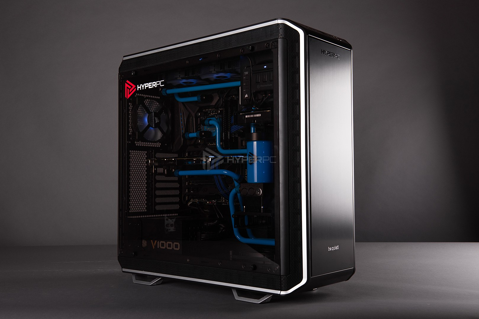 be quiet dark base 900 pro water cooling photo 01