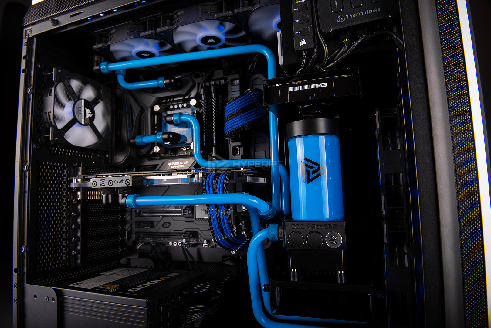 be quiet dark base 900 pro water cooling photo 13