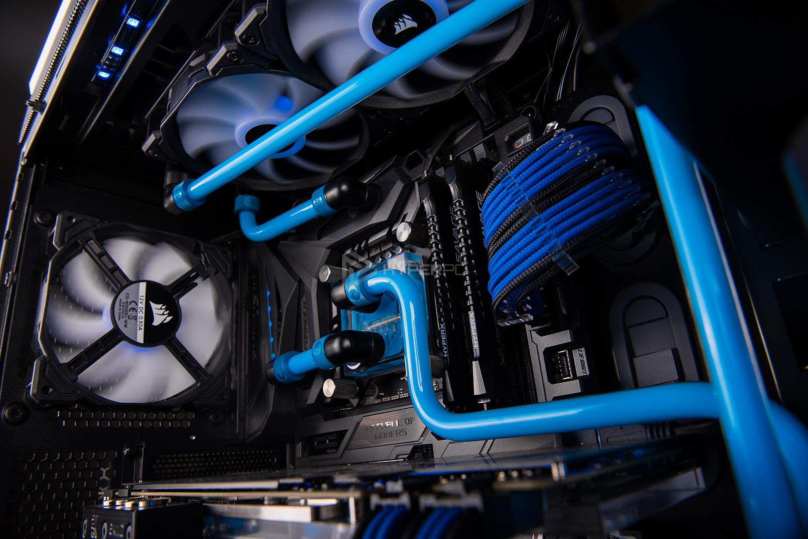 be quiet dark base 900 pro water cooling photo 18
