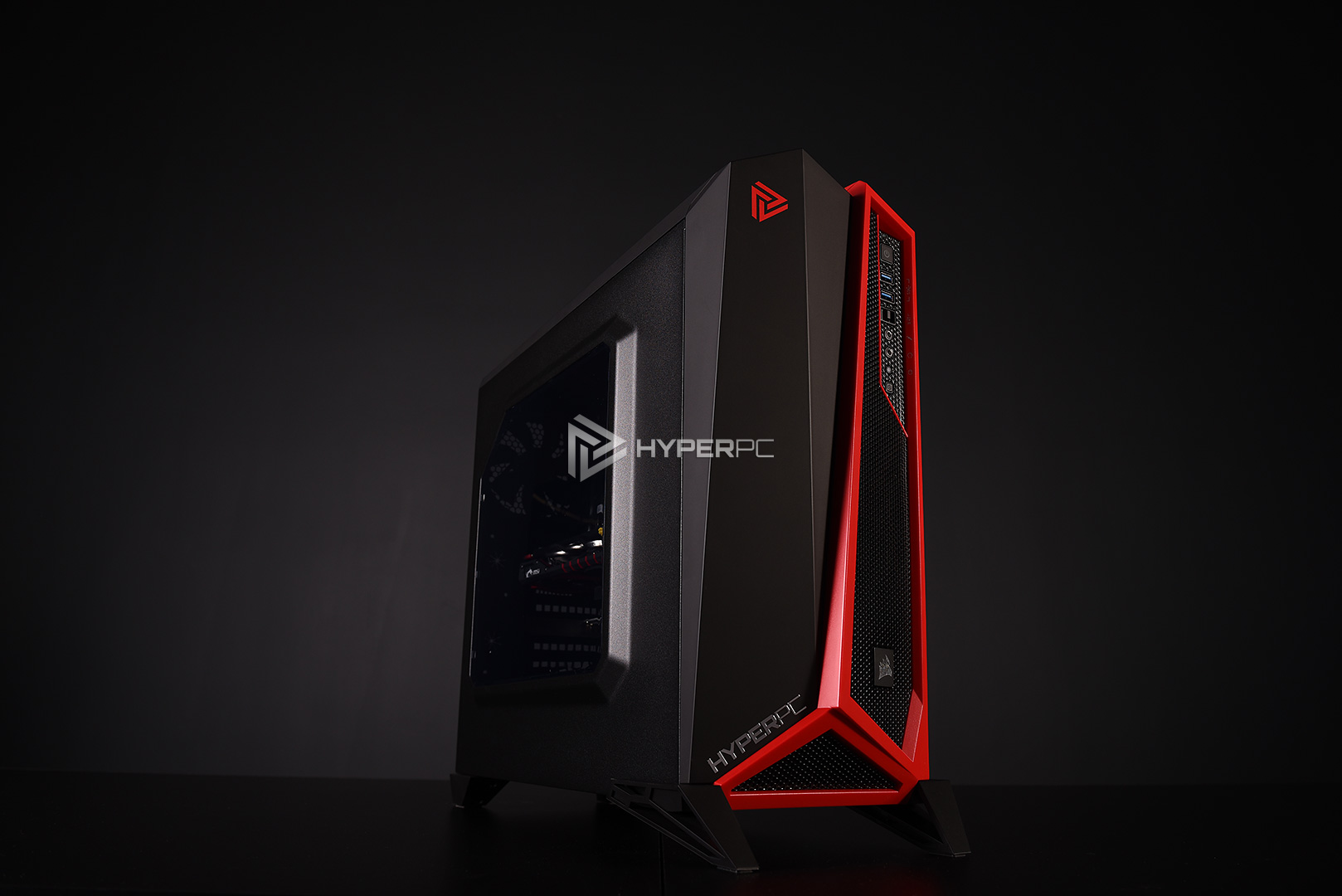 corsair spec-alpha black-red live photo 02