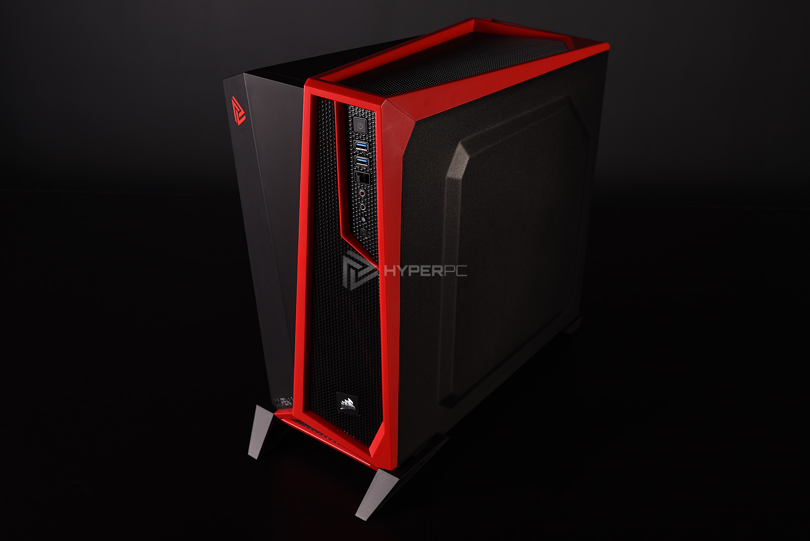 corsair spec-alpha black-red live photo 10