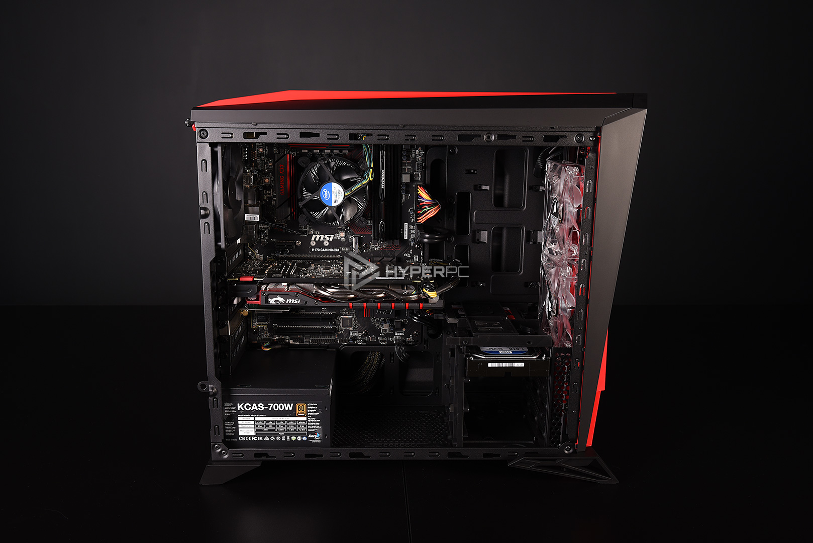 corsair spec-alpha black-red live photo 12