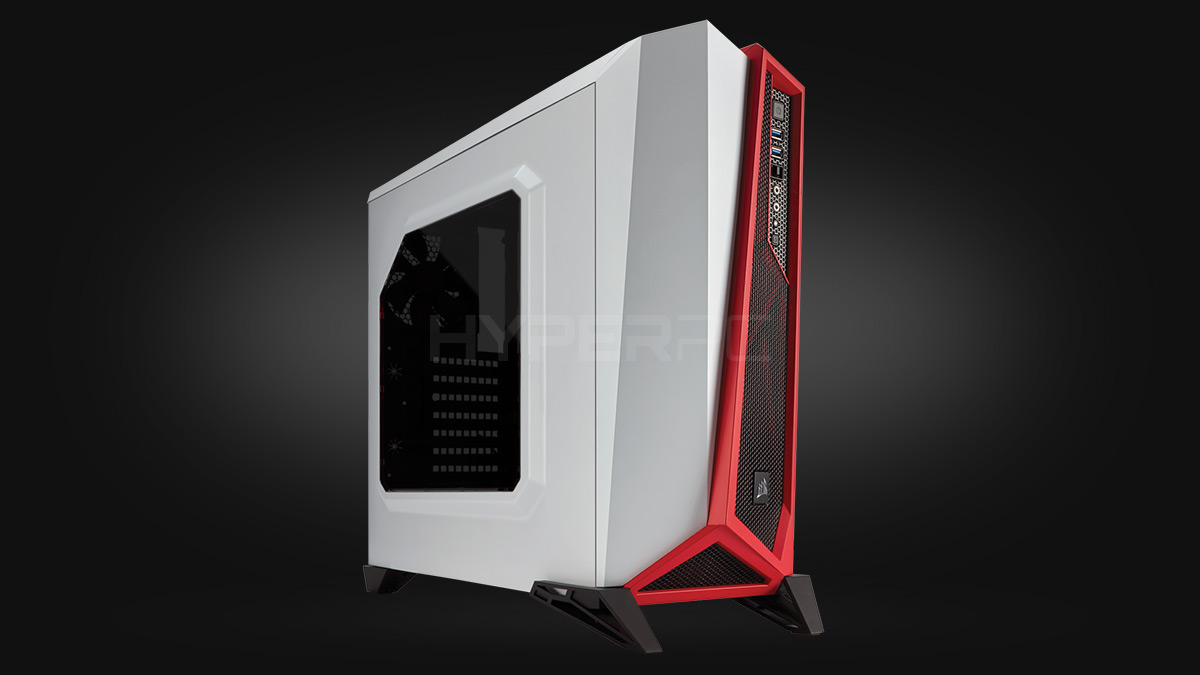 Corsair Carbide Series SPEC-ALPHA (White/Red)