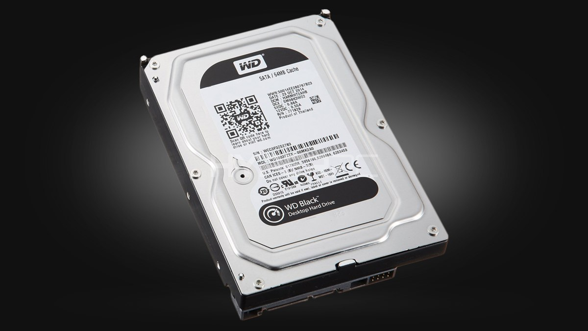 Western Digital 1TB (Black series)