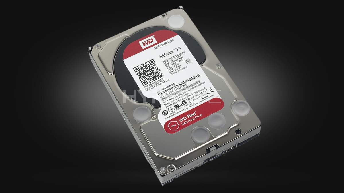 Western Digital 1TB (Red series)