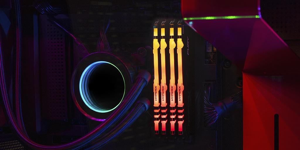 Оперативная память 8GB HyperX FURY RGB DDR4-3200