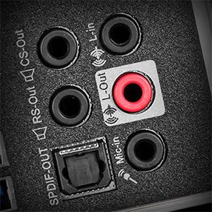 Высококачественные аудиоразъемы с S/PDIF