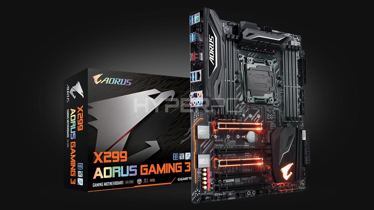 AORUS X299 Gaming 3
