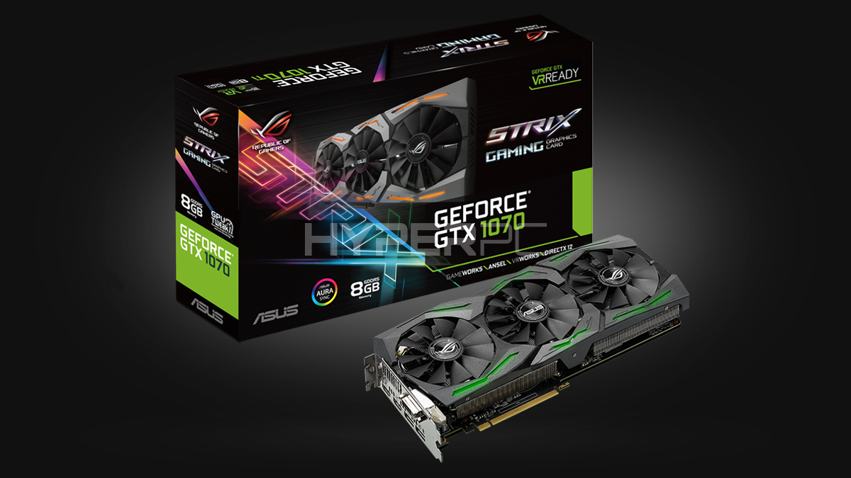 ASUS GeForce GTX 1070 Strix
