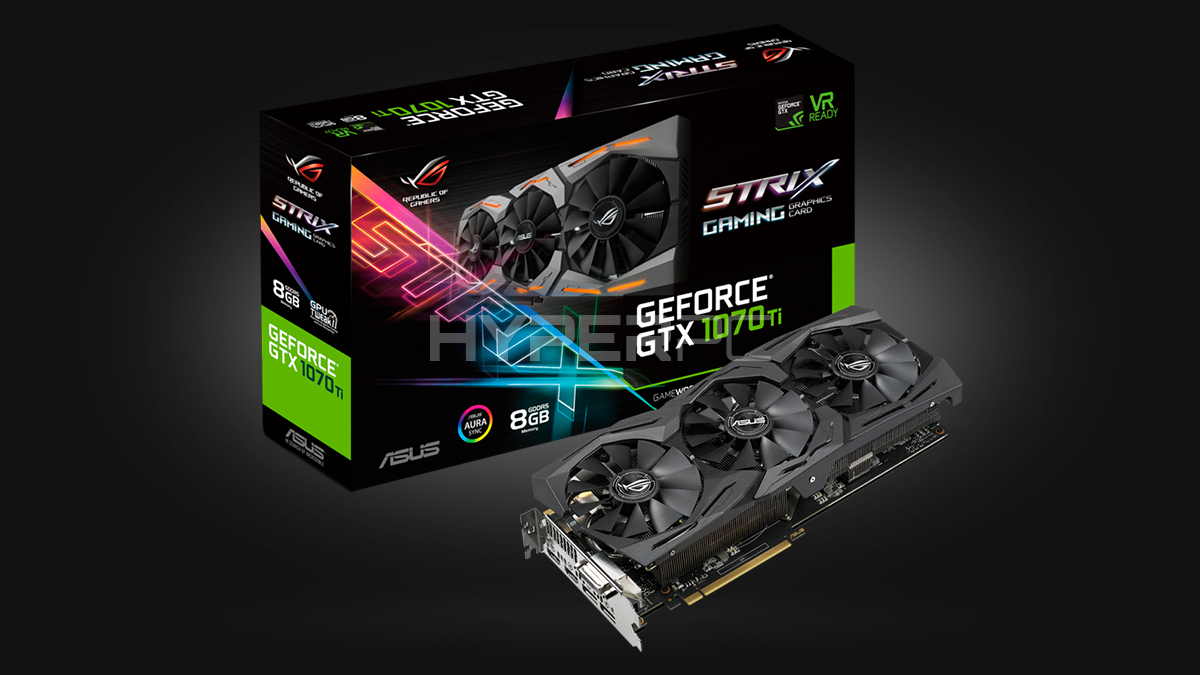 ASUS GeForce GTX 1070 Ti Strix
