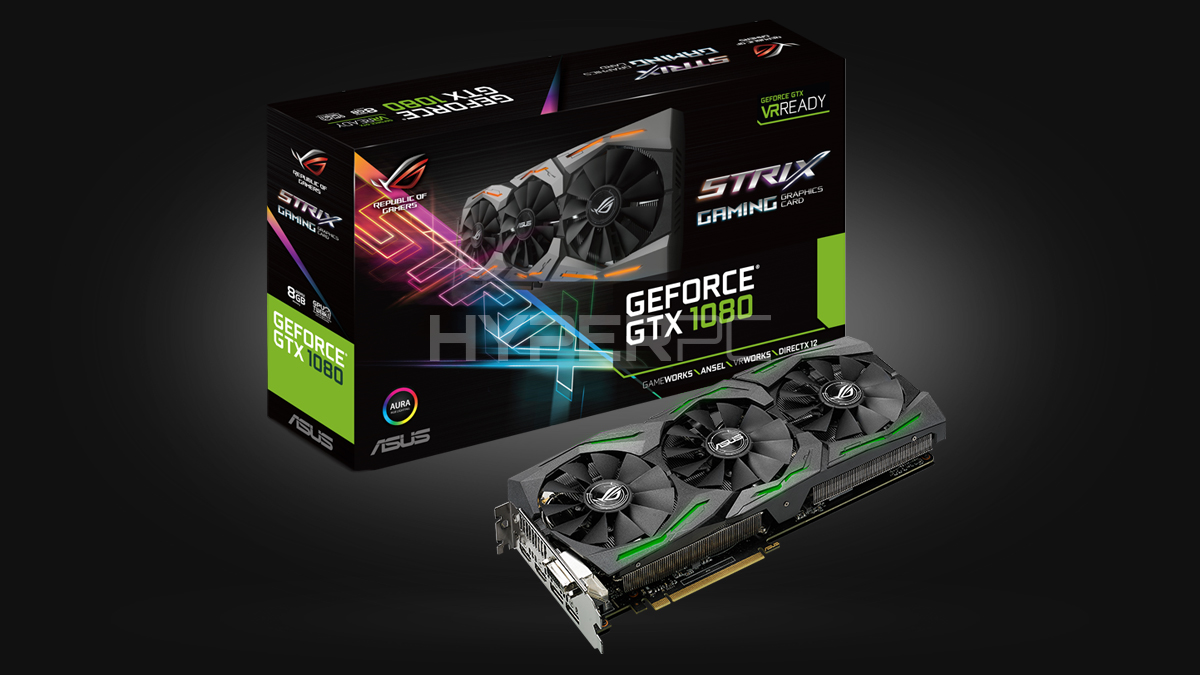 ASUS GeForce GTX 1080 Strix