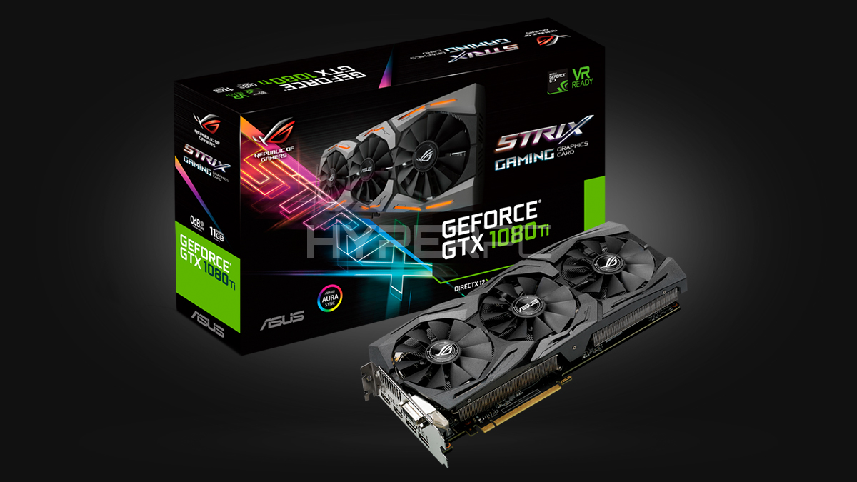 ASUS GeForce GTX 1080 Ti Strix