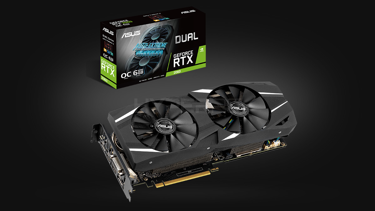 ASUS GeForce RTX 2060 Dual