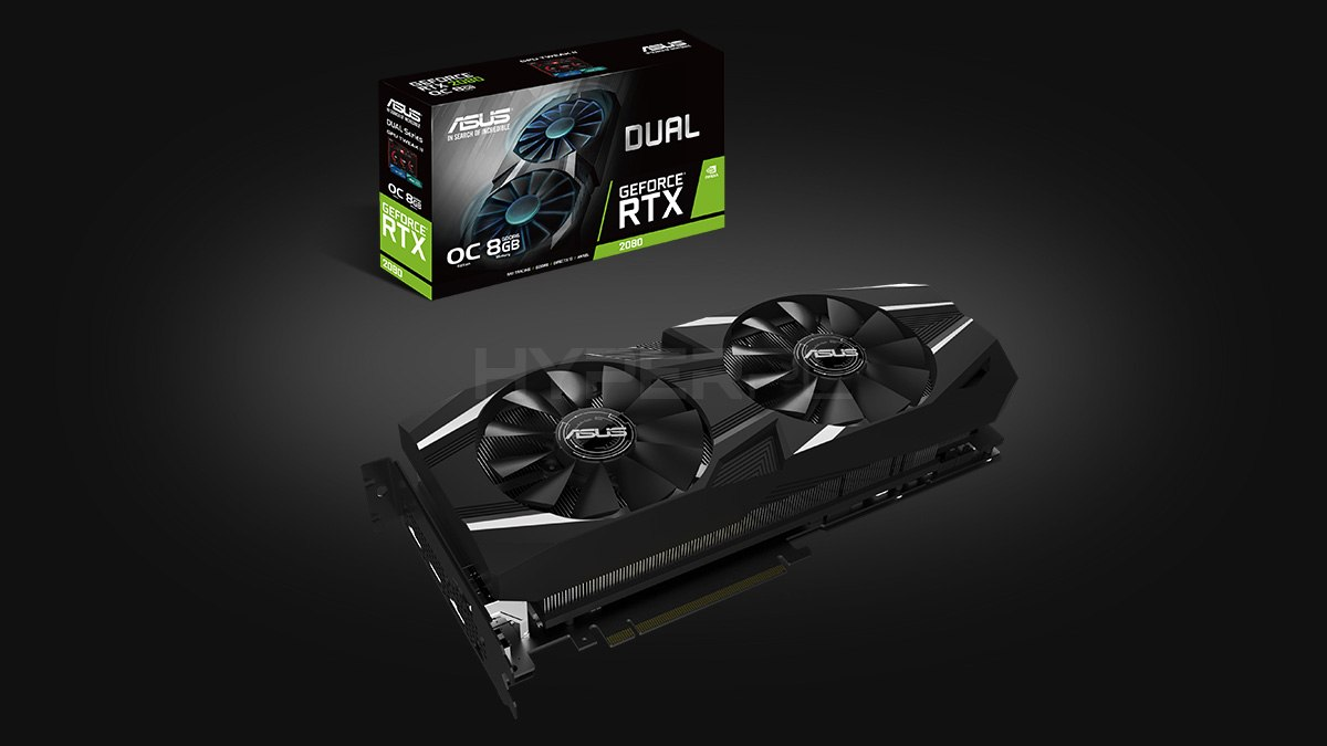 ASUS GeForce RTX 2080 Dual (предзаказ)