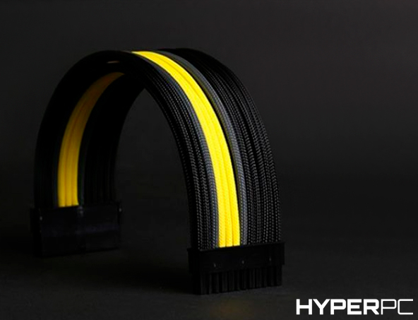 HYPERPC Custom Cable Kit (Black-Yellow)