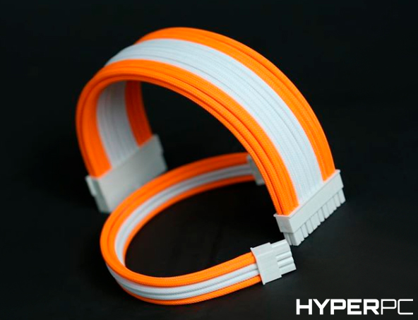 HYPERPC Custom Cable Kit (White-Orange)