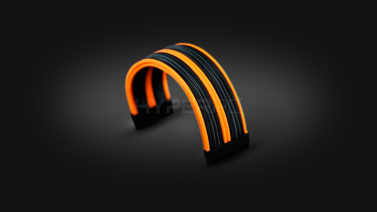 HYPERPC Custom Cable Kit (Black-Orange)