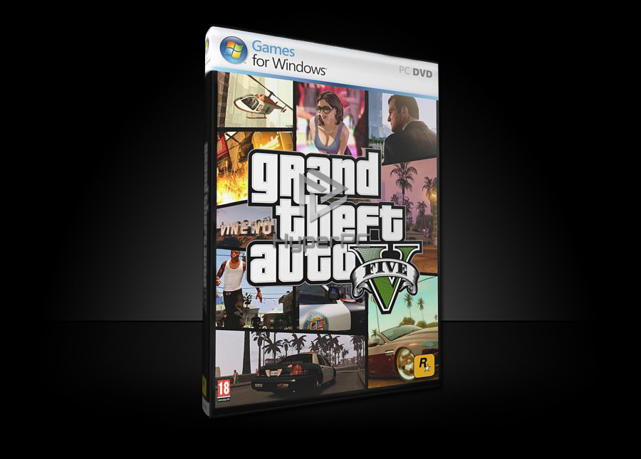 gta 5 dvd box