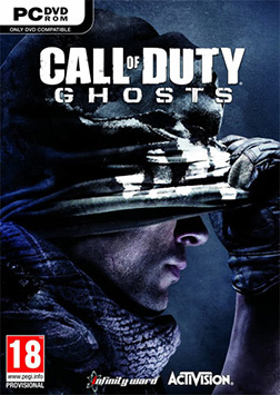 call of duty ghosts pc dvd