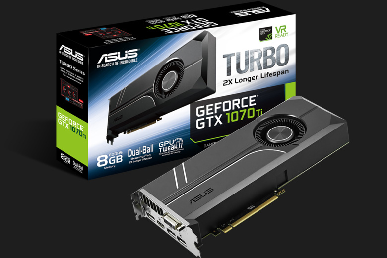 ASUS GTX 1070 Ti Turbo