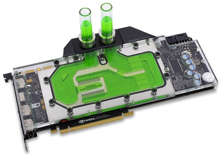 Водоблок для NVIDIA GeForce GTX 1080 Ti