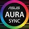Этот компьютер оснащен компонентами ASUS с поддержкой технологии подсветки AURA