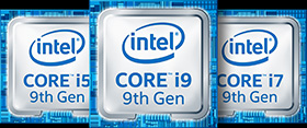 Intel Core 9 family logo